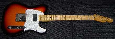 Fred's 1997 California Fat Telecaster