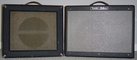 Fred's amp set-up.