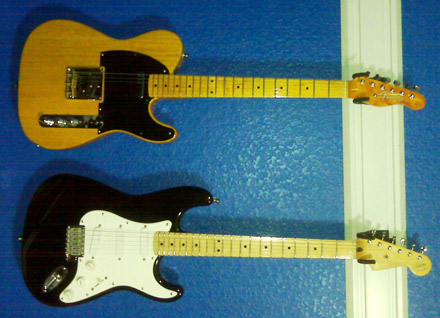Michael Franklin's Tele and Strat