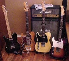 Mark Addeo's Tele collection