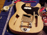 Charles Pacheco's Tele Thinline project